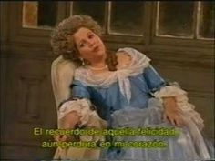 "Just read the subtitles. Renee Fleming as Contessa sings ""Dove sono"" from Le Nozze MET Renee Fleming, Teaching Music, World Music, Conductors, My Music, Comebacks, Love Her, Opera, Singing"