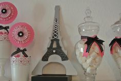 Paris party decorations by Any