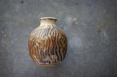 Mid Century Vase by Texas Potter Gus Gikas Faux Bois by susantique, $29.00