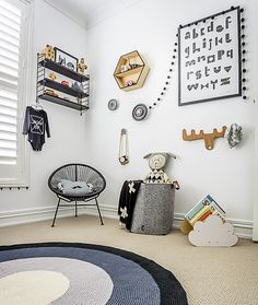 Kids room decor ideas - Ideas de decoración para habitaciones infantiles
