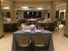 Pinstripes - Chicago: With both private reception rooms and a beautiful ballroom, this urban venue offers picturesque views of the Chicago skyline and cozy amenities for an unforgettable wedding.