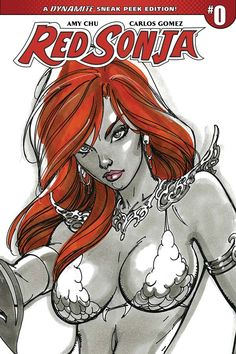 First 3 Pages From Red Sonja's Return By Amy Chu And Carlos Gomez