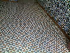 Zementfliesen Tanger-Marokko