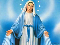 Novena a Nossa Senhora das Graças Religious Pictures, Mary And Jesus, Mother Mary, Virgin Mary, Tatoos, Aurora Sleeping Beauty, Disney Princess, Lady, Youtube