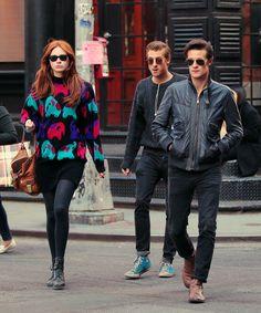 OMG...Matt Smith and Arthur Darvill look AMAZING in this photo. Karen, beautiful as usual...but DAMN boys!