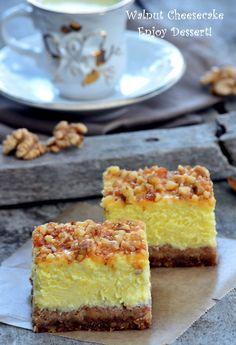 Romanian Desserts, Desert Recipes, Cheesecakes, Vanilla Cake, Caramel, Sweet Treats, Deserts, Food And Drink, Ice Cream