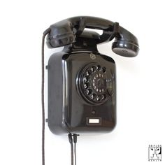 Bakelit Wandtelefon, Germany, 40's-