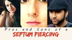 Considering getting a septum piercing but can't make up your mind?  Come and see this full list of  pros and cons to help you choose: http://propiercingkits.com/the-pros-and-cons-of-a-septum-piercing-making-up-your-mind
