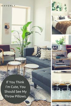 Get the space (and throw pillows) of your dreams with Havenly. Work with a professional designer to create your perfect look, then shop for everything in one easy place! All online, delivered to your door.