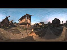 Short 360 video rendered from gameplay in Unity (Viking Village) - YouTube