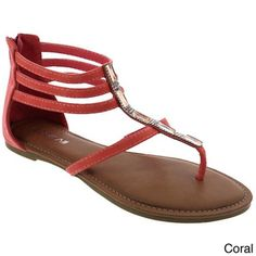 MACHI Women's Gladiator Sandals | Overstock.com Shopping - Great Deals on MACHI Sandals