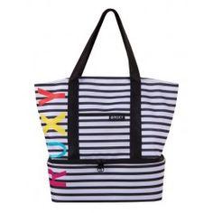 a beach bag with an insulated cooler! best idea ever...