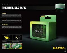 Scotch Tape Packaging
