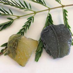 Yellow Sea Glass Olive Green Sea Glass Sea Glass by AmorNtheBox