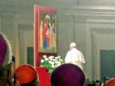 Pape François - Pope Francis - Papa Francesco - Papa Francisco- Synod of Bishops on the family - Oct.2015 : PapaFrancesco alla veglia per il #Sinodo15