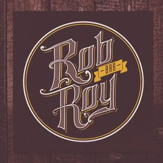 Rob Roy Bar sign #robroy,#bar,#barsign, #lettering,#logo,#sign,#calligraphy,#wedrawstudio,#бар,#лого,#вывеска,#вивiска,#дизайн