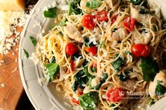 Chicken Florentino - 10 Minute Meals — 10 Minute Meals