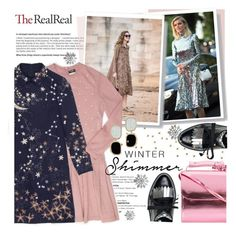 """Holiday Sparkle With The RealReal: Contest Entry"" by asya-1 ❤ liked on Polyvore featuring Oscar de la Renta, Chanel, Valentino, Marques'Almeida and Roberto Coin"
