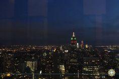 Top of the Rock -Empire States  www.aquelelugar.com.br #newyork #aquelelugar #EUA