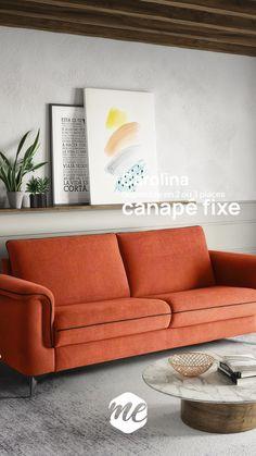 Le modèle Carolina en version Convertible existe aussi en 2 et 3 places fixes. Son accoudoir incrusté avec la carcasse et rentrant a l'intérieur de l'assise lui donne un aspect très contemporain. Ses passepoils sur assises, accoudoirs et dossiers feront de ce modèle la pièce maitresse de votre intérieur. Sofa, Couch, Furniture, Home Decor, Extra Bed, Retro Design, Forearm Stand, Settee, Settee