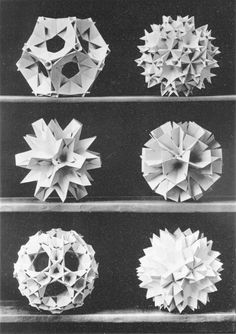 Max Bruckner 1906 polyhedra & icosahedron models   Graphicine