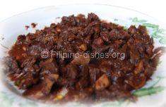 Filipino Dinuguan Dish (Pork Blood Stew)