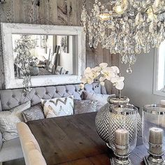 Glamorous dining space Home By Matilde