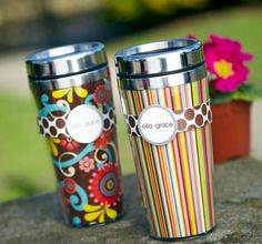 Ella Grace Insulated Travel Go-Go Mugs I need one, or three of these :-)