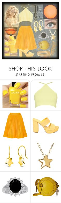"""The Sun"" by nerissa-kirkland ❤ liked on Polyvore featuring Zoya, MSGM, Dinny Hall, Jessica Simpson and Bold Elements"