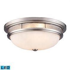 Elk Lighting 70017-3-LED is designed with traditional elements of a flush mount, hinted with sophisticated details such of polished finishing and choice of colors.   Call 888-752-5448 and Get the Lowest Price in the Market