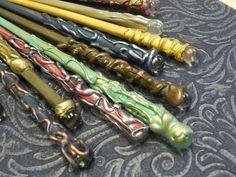 Magic Wands for Wizards and Witchlings by TheWoodlandWandolier