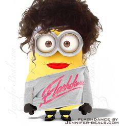 Flash Dance Minion- I find this way more humorous than I should!