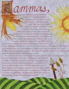 Lammas- the first harvest by jezebelwitch.deviantart.com on @deviantART