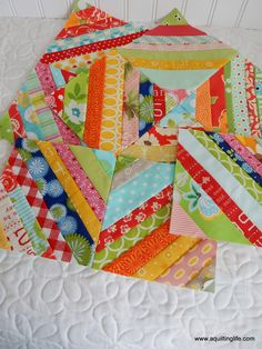 """Happy Monday! Today is the first official """"Scraps Monday"""" post, and I'm super excited to begin a year of using my scraps! At the end of..."""