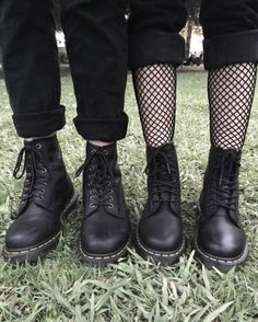 Matching Docs: The 1460 Vegan and 1460 boot, shared by lilcrybaby.