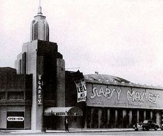 Mobster Mickey Cohen backed nightclub Slapsy Maxie's, It was fronted by former boxer/later character actor Max (Maxie) Rosenbloom. Vintage Photographs, Vintage Photos, Mickey Cohen, White Heat, Los Angeles Area, West Hollywood, Vintage Hollywood, Classic Hollywood, Night Club