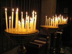 Prayer Candles in Rome