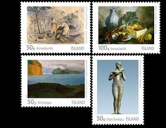 In 2012 Iceland Post issued Icelandic Art III. #Iceland #Bestseller #Art http://www.wopa-stamps.com/index.php?controller=country=stampIssue=6233