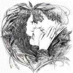 Fan art by Martina Arend via #fb  #Outlander #jamieclaire #OutlanderStarz