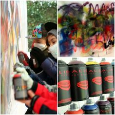 2fa06be0197 Graffiti party by Partyerie  graffiti  birthday party Skateboard Party