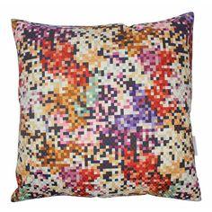 Missoni Cushion Pixel Purple and Copper. Buy online.