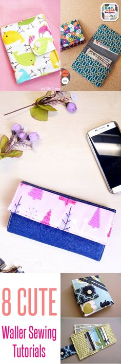 wallet sewing patterns | free wallet patterns | kids wallet | bi fold wallet