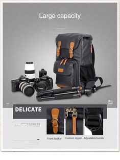 Digital DSLR Camera Bag Photography Backpack Waterproof Photo Lens Canvas Cases For Canon Nikon Camera Travel Bags XA152K-in Backpacks from Luggage & Bags on Aliexpress.com | Alibaba Group Cute Camera Bag, Dslr Camera Bag, Photo Lens, Cheap Backpacks, Alibaba Group, Luggage Bags, Travel Bags, Digital