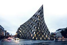 AQSO Arquitectos Design a New, Twisted Landmark For London's Creative Heart
