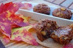 Pumpkin Morning Glory Muffins, perfect for cool Fallmornings