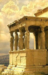 Porch of the Caryatids, Acropolis Athens, Greece - This was one of my most favorite places we visited. I loved Greece ! Places Around The World, Oh The Places You'll Go, Places To Travel, Places To Visit, Around The Worlds, Wonderful Places, Great Places, Beautiful Places, Dream Vacations