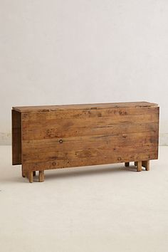 Huge drop leaf dining table from Anthropologie