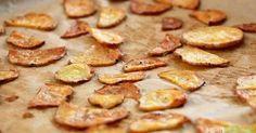 Knackige Chips aus Kartoffeln und Zucchini – viel gesünder als aus dem Laden