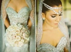 Indian inspired wedding accessories Follow Bride's Book for more great inspiration.