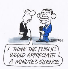 SHUT UP YOUR FACE TONY SHUT UP TONY AND STOP GRANDSTANDING ON EVERYTHING. YOU DON'T MISS A PHOTO OP DO YOU? Cartoon by RON TANDBERG
